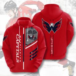NHL Washington Capitals 3D Hoodie V1