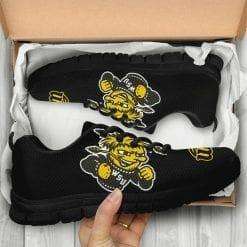 NCAA Wichita State Shocker Running Shoes