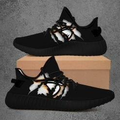 NCAA Anderson Ravens Yeezy Boost Black Sneakers