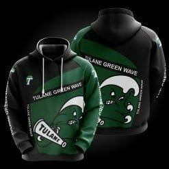 NCAA Tulane Green Wave 3D Hoodie V1