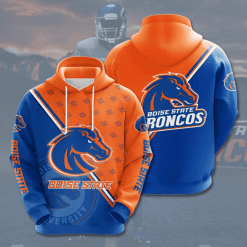 NCAA Boise State Broncos 3D Hoodie V4