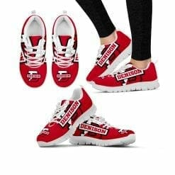 NCAA Denison University Big Red Running Shoes