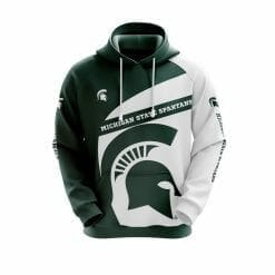 NCAA Michigan State Spartans 3D Hoodie V1
