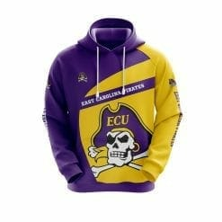 NCAA East Carolina Pirates 3D Hoodie V1