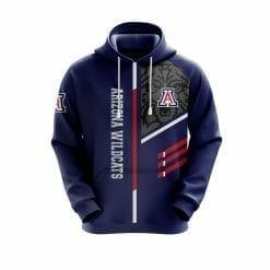NCAA Arizona Wildcats 3D Hoodie V2