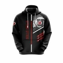 NCAA Utah Utes 3D Hoodie V2