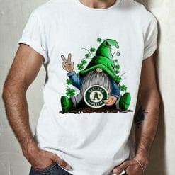 MLB Oakland Athletics T-Shirt Gnomes Hug
