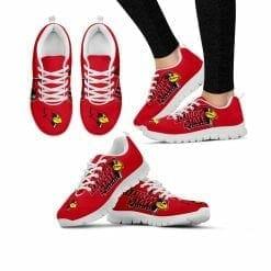 NCAA Illinois State Redbirds Running Shoes