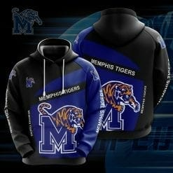NCAA Memphis Tigers 3D Hoodie V1