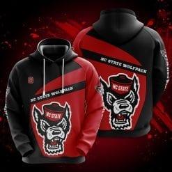 NCAA NC State Wolfpack 3D Hoodie V1
