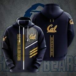 NCAA California Golden Bears 3D Hoodie V2