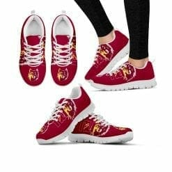 NCAA Northern State University Wolves Running Shoes