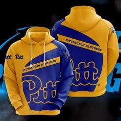 NCAA Pittsburgh Panthers 3D Hoodie V1