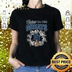 MLB Diego Padres T-Shirt All Time Greats Signatures