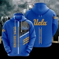 NCAA UCLA Bruins 3D Hoodie V2