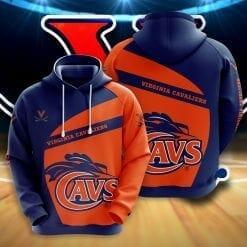 NCAA Virginia Cavaliers 3D Hoodie V1