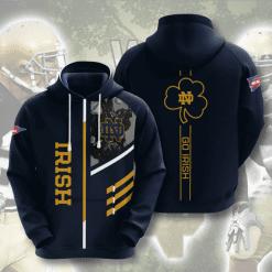 NCAA Notre Dame Fighting Irish 3D Hoodie V2