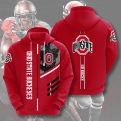 NCAA Ohio State Buckeyes 3D Hoodie V2