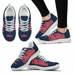 NCAA Ole Miss Rebels Running Shoes