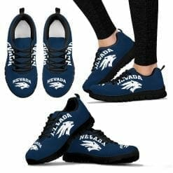 NCAA Nevada Wolf Pack Running Shoes