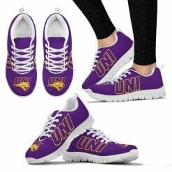 NCAA Northern Iowa Panthers Running Shoes