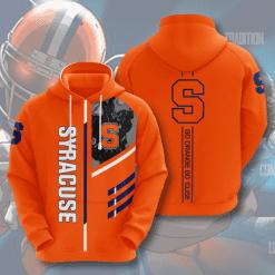 NCAA Syracuse Orange 3D Hoodie V2