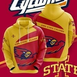 NCAA Iowa State Cyclones 3D Hoodie V1