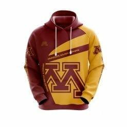 NCAA Minnesota Golden Gophers 3D Hoodie V1