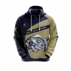 NCAA Navy Midshipmen 3D Hoodie V1
