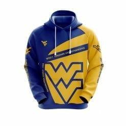 NCAA West Virginia Mountaineers 3D Hoodie V1
