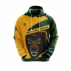 NCAA Baylor Bears 3D Hoodie V1