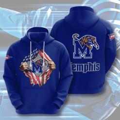 NCAA Memphis Tigers 3D Hoodie V3
