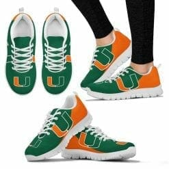 NCAA Miami Hurricanes Running Shoes V2