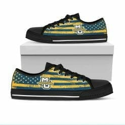 NCAA Marquette Golden Eagles Low Top Shoes