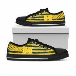 NCAA Michigan Wolverines Low Top Shoes