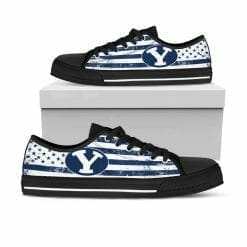 NCAA Brigham Young Cougars Low Top Shoes