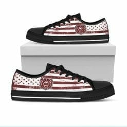 NCAA Missouri State University Bears Low Top Shoes