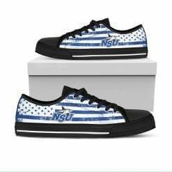 NCAA Nova Southeastern Sharks Low Top Shoes