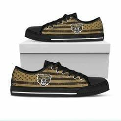 NCAA Oakland Golden Grizzlies Low Top Shoes