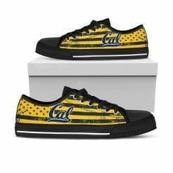 NCAA Cal Bears Low Top Shoes