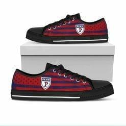 NCAA Pennsylvania Quakers Low Top Shoes