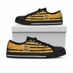 NCAA Quinnipiac Bobcats Low Top Shoes