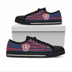 NCAA Radford Highlanders Low Top Shoes