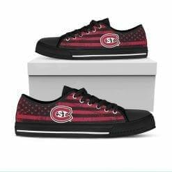 NCAA St. Cloud State Huskies Low Top Shoes
