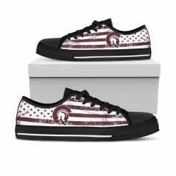 NCAA Arkansas Little Rock Trojans Low Top Shoes