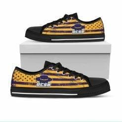 NCAA UC Santa Barbara Gauchos Low Top Shoes