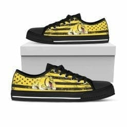 NCAA Bowie State Bulldogs Low Top Shoes