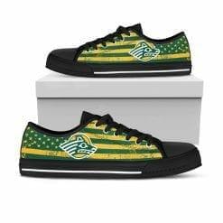 NCAA Alaska Anchorage Seawolves Low Top Shoes