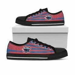 NCAA DePaul Blue Demons Low Top Shoes