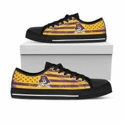 NCAA ECU Pirates Low Top Shoes